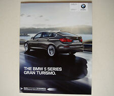 BMW . 5 Series . The BMW 5 Series Gran Turismo . March 2015 Sales Brochure