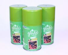 3 Glade AutoMatic Spray Refill Sunset Walk Limited Edition Fall Collection