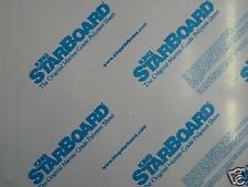"""1/4"""" X 24"""" X 54""""  WHITE KING STARBOARD POLYMER HDPE MARINE BOARD FREE SHIPPING*"""