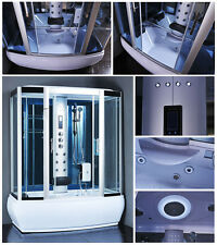 Steam Shower Enclosure Room Spa Whirlpool Touch Screen Computer Display  #9007WS