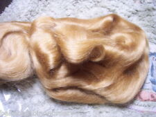 HoNeY BLoNdE MoHaiR FoR ReBoRniNg or ScULpTiNg 1/2 OuNcE ~ REBORN DOLL SUPPLIES