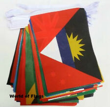 THE COMMONWEALTH of NATIONS BUNTING 54 World Countries Flags 16m Sports Games