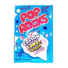 POP ROCKS COTTON CANDY, PACK OF 12 POP ROCKS