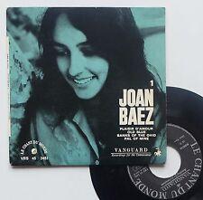 """Vinyle 45T Joan Baez   """"Plaisir d'amour"""""""