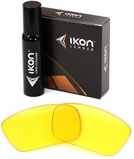 Polarized IKON Replacement Lenses For Oakley Fuel Cell Sunglasses HD Yellow