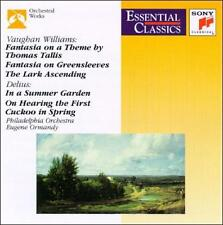 Vaughan Williams, Delius: Orchestral Works (CD, Sep-1996, Sony Music...