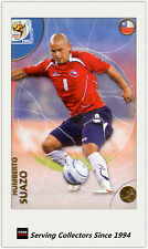 2010 Panini World Cup Soccer Trading Card Common No64 Humberto Suazo (Chile)