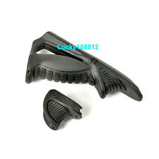 Ergonomic Angled Foregrip Tactical Rifle Grip Forward Point Thumb Lock Handstop
