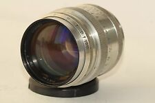 Silver Jupiter-9 2/85mm lens Russian Sonnar copy Telephoto P SLR M42/M39 N590393