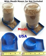 USA 4 pcs Heavy Duty Chick Feeder Poultry Gamefowl Chicken Quail hatching eggs
