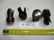 4 patins glisseur 18 mm (17 mm 12 mm )à insérer, pour pied tube...