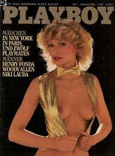 Playboy 1,01/1982 Januar,Gabi Schüdel,Niki Lauda,Henry Fonda, zum Geburtstag!