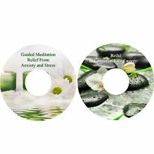 Guided Meditation For Relief Of Anxiety & Stress & Reiki CDs Relaxation Healing