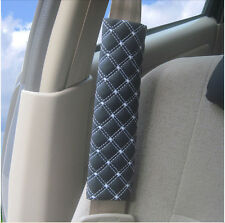 1 Pair of Car Safety Seat Belt Shoulder Pads Cover Cushion Harness Pad Protector