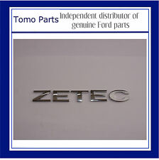 Genuine FORD ZETEC Badge Emblem- Focus, Fiesta, C-MAX, Galaxy, Mondeo, S-MAX