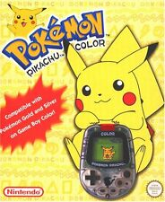 Pokemon Pikachu Color Gameboy Ped-O-Meter Pedometer NEW & BOXED