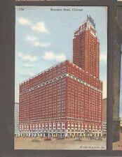 Vtg Postcard Morrison Hotel Chicago ILL IL