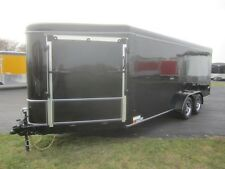 2017 United 7x23 Premier Series Enclosed Snowmobile Trailer with Powdercoat Pkg