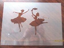 Ballerina Dancing Ballerina's Stencil for Air Brush, Crafting, Art Work, etc.