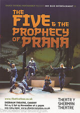 Event Promo Flyer: The Five & The Prophecy Of Prana (Sherman, Cardiff, 2014)