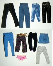 Barbie LOT of NEW PANTS from fashion packs etc
