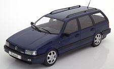 KK SCALE MODELS 1988 Volkswagen Passat B3 VR6 Variant Dark Blue LE of 1000 1/18