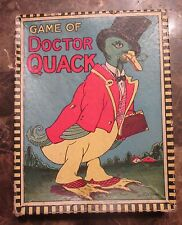 Game of Doctor Quack Vintage Board / Card Game Comical Complete