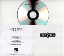 HEALTH & BEAUTY No Scare 2016 UK 7-trk promo test CD