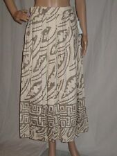 vtg 80's EVAN PICONE cotton DRESS skirt TRIBAL PRINT large size NWT DEAD STOCK