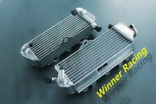 right + left radiator fit Suzuki RM250 RM 250 1991-1992 braced aluminum alloy