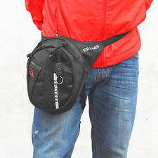 New Men Pack Motorcycle Riding Hiking Rider Messenger Waist Bag Drop Leg Bags