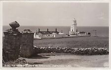 Old Roman Pillars & St. Catherine's Lighthouse, Nr NITON, Isle Of Wight RP