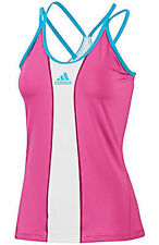 NWT WOMENS ADIDAS CLIMACOOL BARRICADE TENNIS fitness RUNNING TANK TOP SIZE L $45