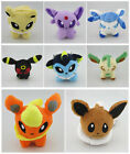 Wholesale 8 New Nintendo Pokemon Eevee Espeon Vaporeon Stuffed Plush Toy Doll 5""