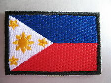 Philippines Flag Small Iron On/ Sew Cloth Patch Badge Bandila Pilipínas Filipino