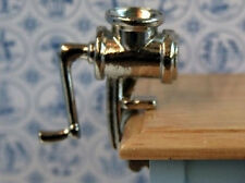 Mincing Machine, Dolls House Miniatures Kitchen Accessory Meat Grinder