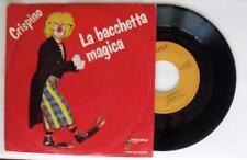 Crispino  LA BACCHETTA MAGICA  singolo 45 giri vinile MUSICA ANNI OTTANTA