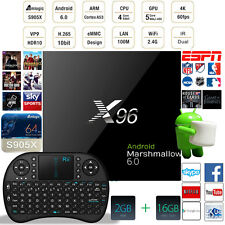 X96 2GB 16GB Android 6.0 Marshmallow TV BOX KODI 16.1 S905X faster than MXQ Pro