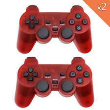 2.4GHz Wireless Dual Vibration Joypad Gamepad Consoles Controller For Sony PS2