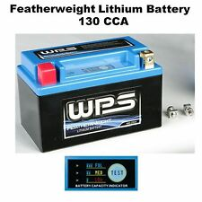 Featherweight Lithium Battery 12v/130 CCA Dirt bike Motorcycle Off Road