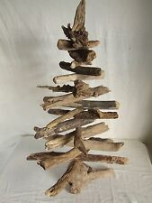 "Christmas tree 20"" tall made from natural seaside wood or all year round display"