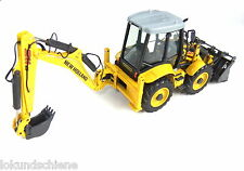 Escavatori terne NEW HOLLAND B 115 B NZG 1:50 metallo #817/XX