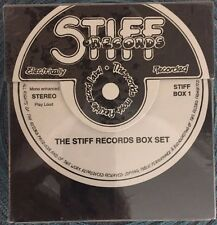 STIFF RECORDS 4 CD BOX SET (1992 RHINO) British Artists 1970s 1980s NEW