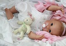 BABY BUNNY HUGS! - Newborn 20 Inch Collectors Life Like Pacifier Baby Girl Doll