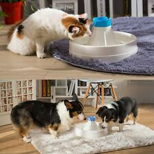 Pet Automatic Water Fountain Dispenser Drinking Bowl Cats Dogs Ki C1MY