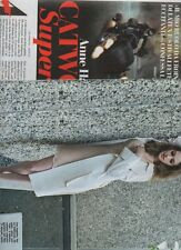 SP74 Clipping-Ritaglio 2012 Anne Hathaway Catwoman SuperSexy