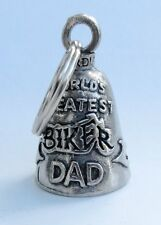 WORLD'S GREATEST BIKER DAD GUARDIAN BELL gremlin mod harley dyna softail chopper