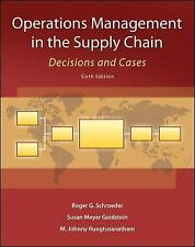 FAST SHIP - SCHROEDER GOLDSTEIN 6e Operations Management in the Supply Chain Y08