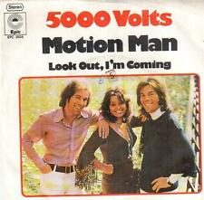 """2002-03  7"""" Single: 5000 Volts - Motion Man / Look Out, I'm Coming"""