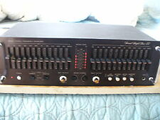 ADC stereo equalizer, Sound Shaper Two-IC, clean, working great